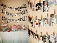 For any birthday.. could even ask guests to bring photos for a milestone birthday