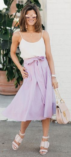 Our favorite spring skirts spring outfit ideas 30 Outfits, Summer Fashion Outfits, Spring Outfits, Trendy Outfits, Spring Fashion, Trendy Clothing, Spring Skirts, Spring Dresses, Comfortable Outfits