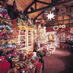 The Christmas Shop  Manteo, NC  I WILL be going here on our vacation this summer!