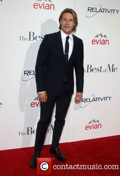 "Luke Bracey at ""The Best Of Me"" Los Angeles Premiere"