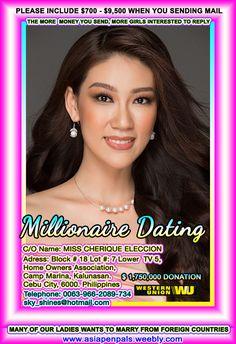 Millionaire Matchmaker, Millionaire Dating, British Royal Family News, Philippines, Dating Services, Filipina Girls, Princess Kate Middleton, Filipina Beauty, Cebu City