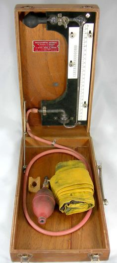 storia dello sfigmomanometro, histoire du sphygmomanomètre, history of sphygmomanometer,Pressiomètre Artériel Dr. P. Ménard