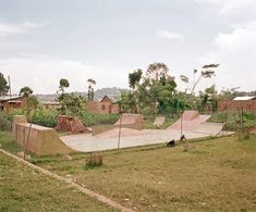 Skatepark in Uganda - DIY