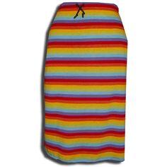 Preciosa falda de rallas, cómoda y practica.  Talla : Única  Material: Algodón   Precio 13,99 http://tiendatuyyo.es/index.php?jump=3065