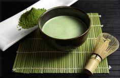 Macha is the kind of tea used in tradtional Japanese tea ceremony. It's ground up very fine, and the tea is whisked when prepared. The flavour is light and sweet. Macha  is often used in desserts, smoothies, shakes, milk, and even ice cream.