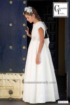 Vestidos de Comunión, Pilar del Toro, Comunión Trendy, Primera Comunión Trajes, 5