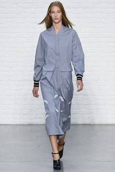 Yigal Azrouel womenswear, spring/summer 2015, New York Fashion Week