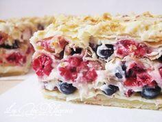Слоеный торт со свежими ягодами. Прекрасная альтернатива любимому «Наполеону»! | Моя любимая выпечка
