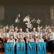 """ITÄMAAN HAAVEITA - ja muita menneiden aikojen iskusäveliä.  Maineikas Seminola-orkesteri soittaa 1920–1950-luvun koti- ja ulkomaista tanssimusiikkia alkuperäisin sovituksin ja osin alkuperäissoittiminkin. Itämaan haaveita -konsertti tarjoaa keväisiä ja kesäisiä tunnelmia 1920–1950-lukujen schlaageriaarteistosta. Tervetuloa kuuntelemaan aitoa menneiden aikojen sointia ilman gramofonilevyn rahinaa!""""  Kangasalalla 29.4.2015."""