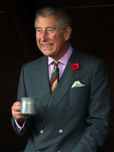 Prince Charles And Duchess Of Cornwall Visit Japan - Drinking Green Tea