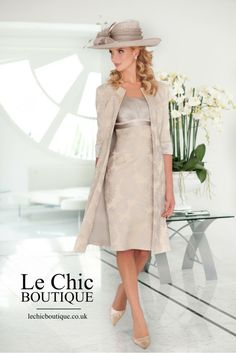 Mother of the Bride or Mother of the Groom dress by designer Ispirato - Style No. IS920 - mother-bride.com