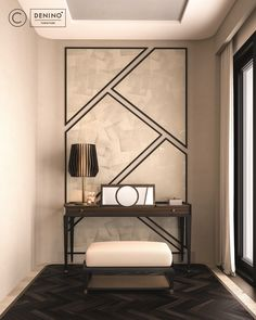 Cipriani Homood x Denino Furniture high-end interiors, wall panels and highly detailed amazing furniture pieces.