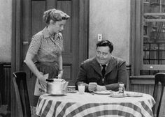 """""""The Honeymooners"""" Audrey Meadows as Alice Kramden Jackie Gleason as Ralph Kramden. A man works from sun to sun ,but a woman's work is never done. Great Tv Shows, Old Tv Shows, Audrey Meadows, Jackie Gleason, Abbott And Costello, Tv Show Casting, Childhood Tv Shows, The Best Series Ever, Classic Comedies"""