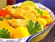 Delicious Thai Mango Chicken!