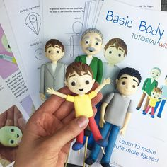 Learn how to make these cute male cake figures! The PDF file includes: - 183 HIGH-QUALITY photos - detailed and EASY-TO-FOLLOW instructions - TEMPLATES! - precise paste MEASUREMENTS The templates provided will help you create elements of the right size and shape. Just place the element