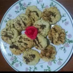 lericettediziasara: biscotti morbidi con cocco e cioccolato ( soft coo...