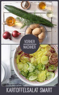 http://eatsmarter.de/rezepte/kartoffelsalat-smarter Kartoffelsalat schmeckt auch smart und vegan.
