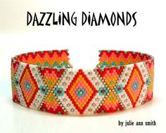 DAZZLING DIAMONDS Bracelet Pattern, Sova Enterprises