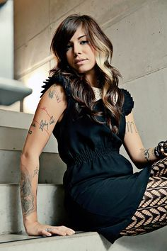 Picture of Christina Perri Beautiful Christina, Blonde Streaks, Christina Perri, Celebrity Babies, Love Hair, Woman Crush, Cut And Color, Hair Looks, Hair Inspiration