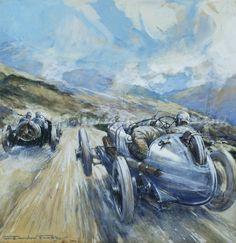 Frederick Gordon Crosby (1885-1943) 'Targa Florio, 1922'