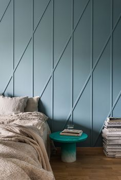 Wall trim is a strong visual signal, conveying the architectural style of a room in a glance. Panel molding and chair rails are most closely associated with traditional homes, but wood trim in geometric and repetitive shapes can easily look modern. Use one of these ideas as an inexpensive way to transform flat surfaces with pattern and texture.