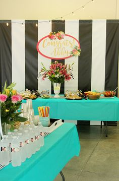FABULOUS IDEAS!  Abby's Graduation Party (in Kate Spade Style!) | Less Than Perfect Life of Bliss | home, diy, travel, parties, family, faith,