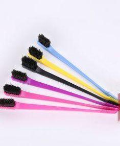Double - Sided Edge Control Hair Brush