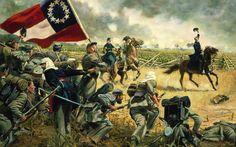 American Civil War Paintings | American-Civil-War-Wallpapers-Art-Painting.jpg