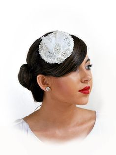 Bridal headpieces by Irish Designer Kyna Vintage Bridal Headpiece style Doll Head, Vintage Bridal, Bridal Headpieces, Bridal Looks, Bride, Hair Styles, Accessories, Collection, Jewelry