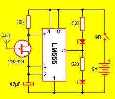 170 555 Circuits Ideas Electronics Circuit Circuit Diagram Electronics Projects