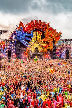 The EDM Craze — edmvibe:   DEFQON.1 WEEKEND FESTIVAL — 1 JULY 2016