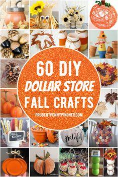Fall Crafts For Adults, Halloween Crafts For Kids, Fall Halloween, Halloween Treats, Halloween Party, Dollar Tree Fall, Dollar Tree Crafts, Pot Mason, Mason Jar Crafts