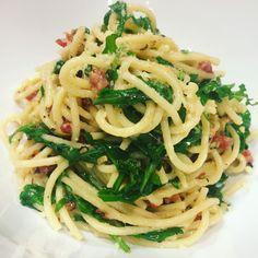 Birthday Pasta – Chrissy Teigen's Lemony Arugula Spaghetti Cacio e Pepe – Foodie Musings