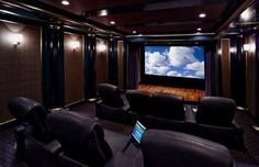20 home cinema room ideas theater seating, home cinemas, home theater room Home Theater Room Design, Home Cinema Room, Home Theater Setup, Best Home Theater, At Home Movie Theater, Home Theater Rooms, Home Theater Seating, Theater Seats, Epic Theatre