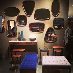 #Porada #arredi #mirror #table #bench #wood #design #interior #furniture #madeinitaly