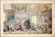 Boereninterieur (Liefdadigheid of Armoede), Gesina ter Borch, 1660 - ca. Baby Wearing, Watercolor, Drawings, Painting, Children, Etchings, Frankenstein, Sketchbooks, Scrapbooks