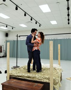 "In the rehearsal room: ""Shakespeare in Love"" at Cleveland Play House (2017) #CPHShakesInLove"