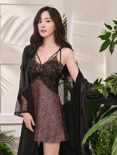 Lingerie Outfits, Sexy Outfits, Night Dress For Women, Fashion Tights, Beautiful Asian Women, Sensual, Asian Fashion, Asian Woman, Night Gown