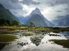 New Zealand is no stranger to breathtaking landscapes. Case in point: Milford Sound, a mountainous fjord where you can live out all of your Lord of the Rings fantasies.