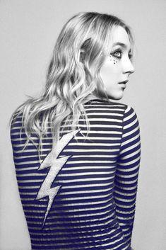 Saoirse Ronan by Carlos Serrao for Flaunt Magazine April 2016 - Gucci