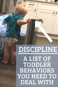 How to know when your toddler's behavior is a problem. Children need structure and boundaries in order to keep them safe from danger. Here's how! Parenting Toddlers, Parenting Books, Gentle Parenting, Parenting Advice, Disciplining Toddlers, Peaceful Parenting, Toddler Behavior, Toddler Discipline, Discipline Plan