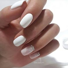 White Square Nails Perfect Shades For 2019 Summer - Chicbetter Inspiration for M. - - White Square Nails Perfect Shades For 2019 Summer - Chicbetter Inspiration for Modern Women : White Square Nails Perfect Shades For 2019 Summer - chic better Pink Nail Art, Pink Nails, My Nails, Glitter Nails, Square Nail Designs, White Nail Designs, Short Square Nails, Perfect Nails, White Nails