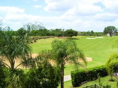 Golf course views from 2nd floor balcony