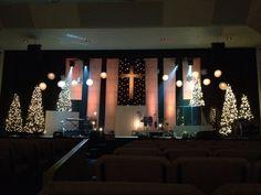 church christmas set design - Google Search