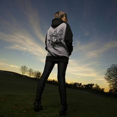"""Corvid Crest"" Raglan Hood Available at www.crmc-clothing.co.uk | WE SHIP WORLDWIDE Models - Izabella-Rae Jaxx Photography - Adrian Ian McNab #darkwear #need #blackwear #want #cozy #altfashion #alternative #niche #fashionstatement #fashiongram #fashionista #iloveblack #womenwithtattoos #winter #winterfashion #satanswaitin #style #alternativeguy #alternativeboy #alternativegirl #alternativeteen #satan #leggingsfordays #leggings #love #girlswithtattoos #satan #tattooedwomen"