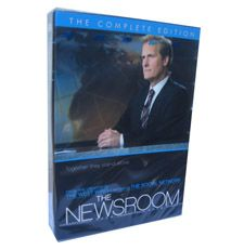 The Newsroom Seasons 1-2 DVD Box Set New Tv Series, Season 1, Baseball Cards, Box, Collection, Snare Drum, Boxes