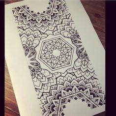 Tattoo Artist Miss Sita done at Oneonine Tattoo Barcelona   Mandala geometry meditation