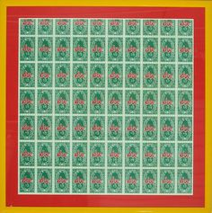 """S&H Stamps Mailer Invitation by Andy Warhol"""