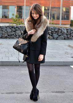My style inspiration Winter Chic, Autumn Winter Fashion, Winter Style, Style Feminin, Passion For Fashion, Dress To Impress, Winter Outfits, Style Me, Street Style