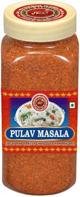 JRC Pulav Masala We Indians love to eat our rice in various ways & one of the most popular ways of making rice is the Pulav. JRC's Pulao Masala contains herbs & spices traditionally used by the royal cooks in the King's kitchen. It's ingredients make your Pulav not only smell heavenly but also make it taste out-of-the world. Best Quality Masala prepared from Natural & Fresh Spices.... You & your family will love the taste.......Millions have applauded JRC spices in last 6+ decades Join our…
